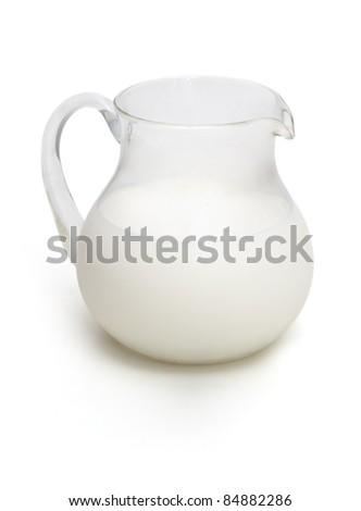 Jar of milk