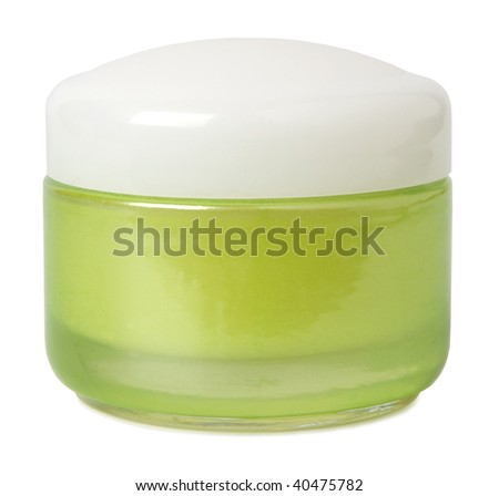 Jar with cream