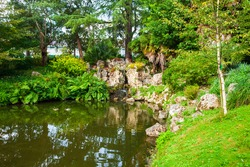 Jardin des plantes de Nantes is a municipal botanical garden in Nantes city, Pays de la Loire in France