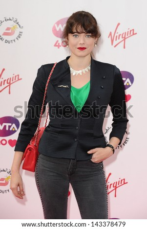 Jasmine Guinness arriving for the WTA Pre-Wimbledon Party 2013 at the Kensington Roof Gardens, London. 20/06/2013