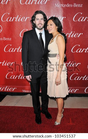 Jason Reitman and wife Michele Lee at the 2010 Palm Springs International Film Festival Awards Gala, Palm Springs Convention Center, Palm Springs, CA. 01-05-10
