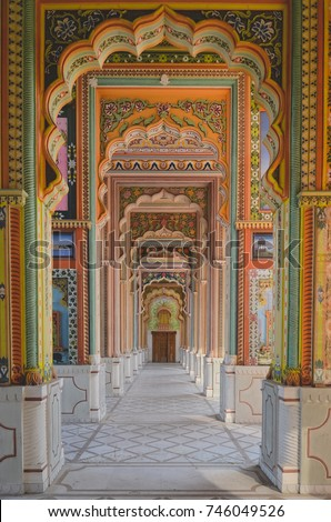 Jawahar Circle, Jaipur, India. #746049526