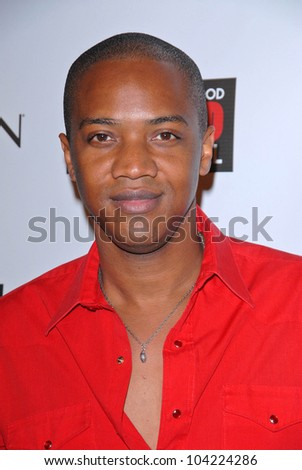 "Jay August Richards at the debut of Mark Liddell's ""Exposed: 10 Years In Hollywood,""  Lloyd Wright's Sowden House, Los Angeles, CA. 11-09-09"