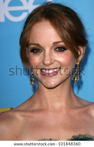 """Jayma Mays at the """"GLEE"""" Season 2 Premiere Screening and DVD Release Party, Paramount Studios, Hollywood, CA. 08-07-10"""