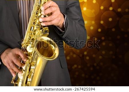 Jazz, Musical Band, Saxophone.