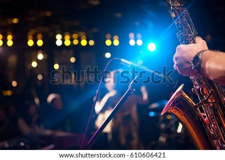 Jazz night Stock photo ©