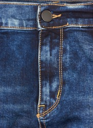 Jeans background closeup