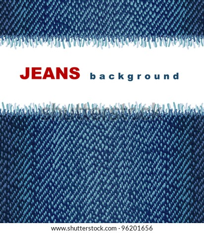 Jeans background.  Raster version.