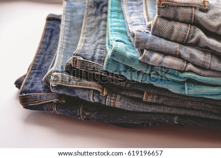 jeans  clothing  denim. detail...