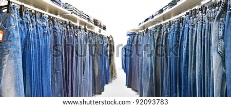 jeans rows
