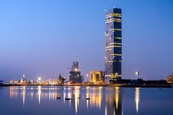 Jeddah City Scape - Saudi Arabia