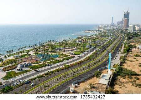 Jeddah Corniche Aerial View 2018