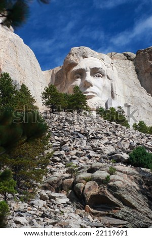 Jefferson at Mount Rushmore