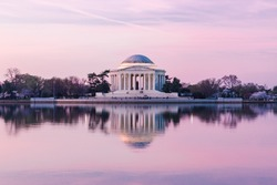 Jefferson Memorial at Sunrise