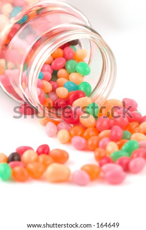 jar of jelly beans clip art. stock photo : jelly beans