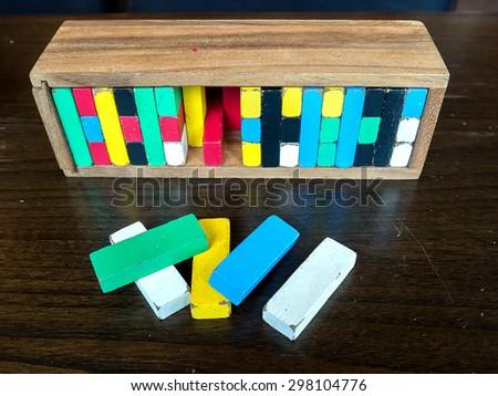 Jenga wood game