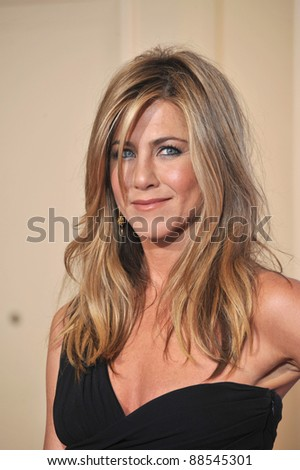 Jennifer Aniston at the 67th Golden Globe Awards at the Beverly Hilton Hotel. January 17, 2010  Beverly Hills, CA Picture: Paul Smith / Featureflash