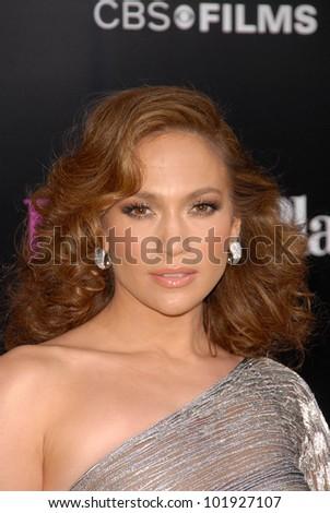 "Jennifer Lopez at the Premiere of CBS Films' ""The Back-up Plan,"" Regency Village Theater, Westwood, CA. 04-21-10 - stock photo"