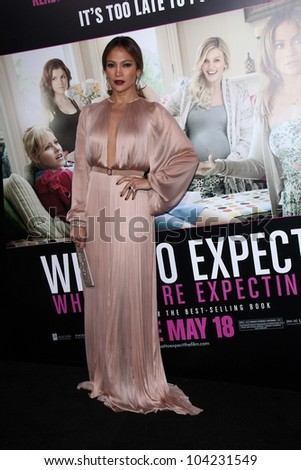 """Jennifer Lopez at the """"What to Expect When You're Expecting"""" Los Angeles Premiere, Chinese Theater, Hollywood, CA 05-14-12"""