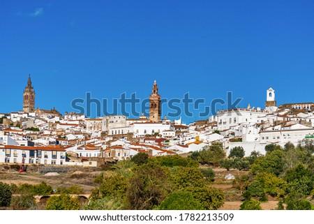 Jerez de los Caballeros, City at Badajoz, Extremadura in Spain.