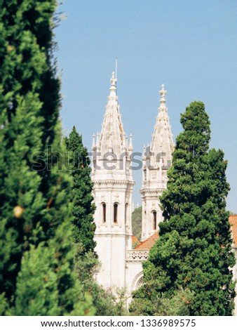 Jeronimos Towers in Lisbon