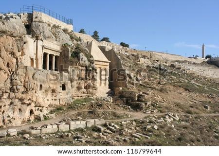 Jerusalem, ancient tombs