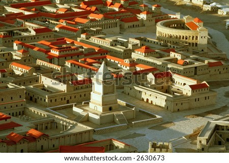 Jerusalem during the time of King Solomon and the 2nd Temple