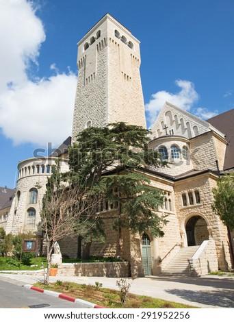 Jerusalem - Evangelical Lutheran Church of Ascension on The Mount of Olives.