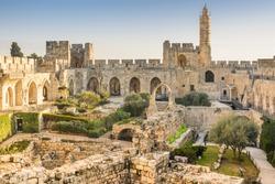 Jerusalem, Israel at the Tower of David.