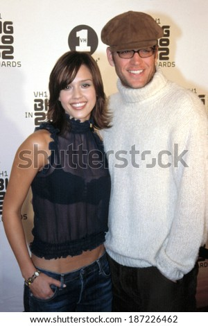 Jessica Alba and Michael Weatherly at the VH1 Best in 2002 Awards, 12/15/2002, LA, CA
