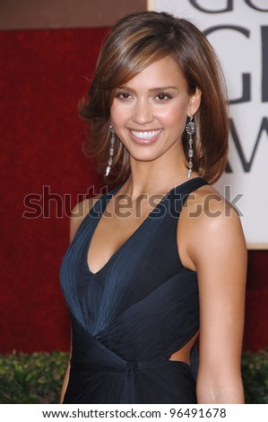 JESSICA ALBA at the 63rd Annual Golden Globe Awards at the Beverly Hilton Hotel. January 16, 2006  Beverly Hills, CA  2006 Paul Smith / Featureflash