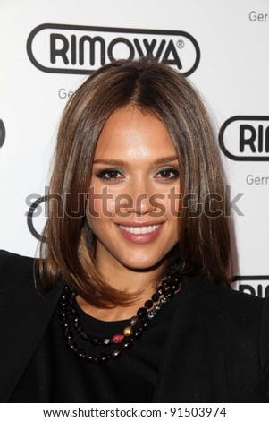 Jessica Alba at the Rimowa Launch Party, Rimowa, Beverly Hills, CA. 05-16-11
