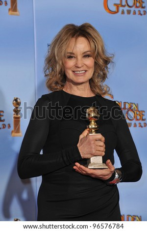Jessica Lange at the 69th Golden Globe Awards at the Beverly Hilton Hotel. January 15, 2012  Beverly Hills, CA Picture: Paul Smith / Featureflash