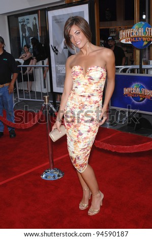 "Jessica O'Donohue at the world premiere of ""I Now Pronounce You Chuck and Larry"" at the Gibson Amphitheatre, Universal City. July 13, 2007  Los Angeles, CA Picture: Paul Smith / Featureflash"