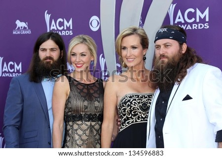 , Korie Robertson, Willie Robertson and Jep Robertson of Duck Dynasty
