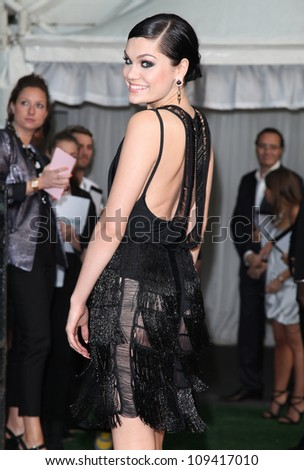 Jessie J arriving for the Glamour Women Of The Year Awards 2012, at Berkeley Square, London. 29/05/2012 Picture by: Alexandra Glen / Featureflash