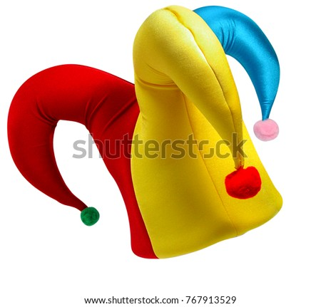 Shutterstock Jester hat isolated