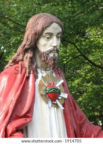 Jesus - stock photo