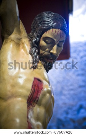 Jesus Christ on the cross from Mallorca church