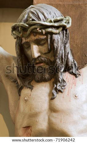 Jesus Christ on the cross from Vienna church