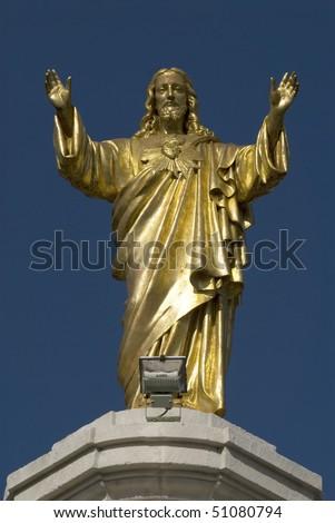 Jesus Christ - Sanctuary Fatima - Portugal - Europe