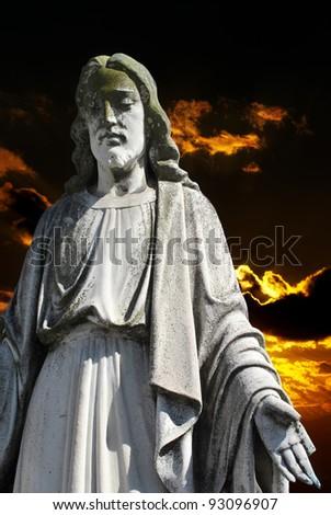 Jesus Christ tombstone
