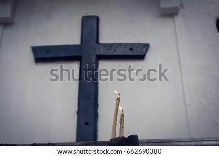 jesus cross #662690380
