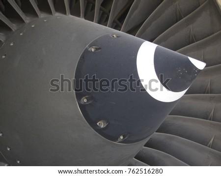 Jet turbine engine and fan blades