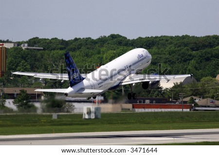 JetBlue takeoff