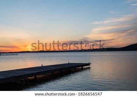 Photo of  Jetty on Lake Brombachsee Bavaria