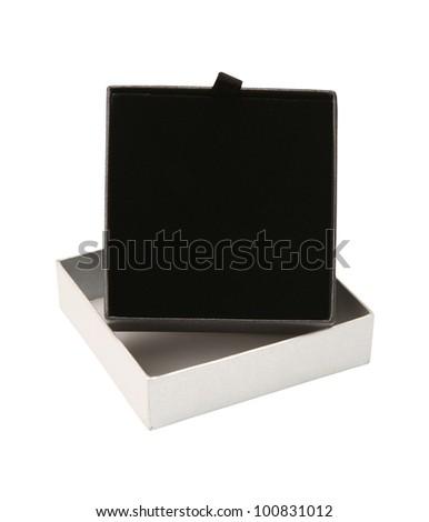 jewelry box isolated on white background