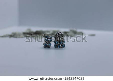 Jewelry charms for bracelet or chain.