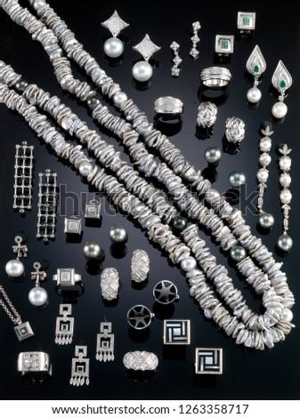 Jewelry (full silver). Spain.