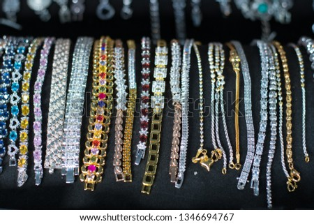 Jewelry gold  bracelet, Jewellery shops in Thailand #1346694767